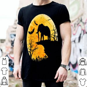Nice Moon Halloween Elephant Funny Costume Gift For Animal Lover shirt