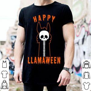 Official Halloween Llama Funny Happy Llamaween shirt