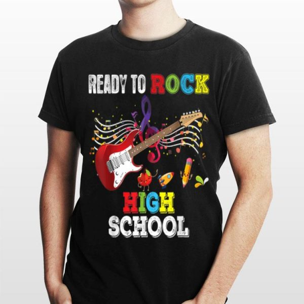 Ready To Rock High Shool Teacher Student Back To shirt