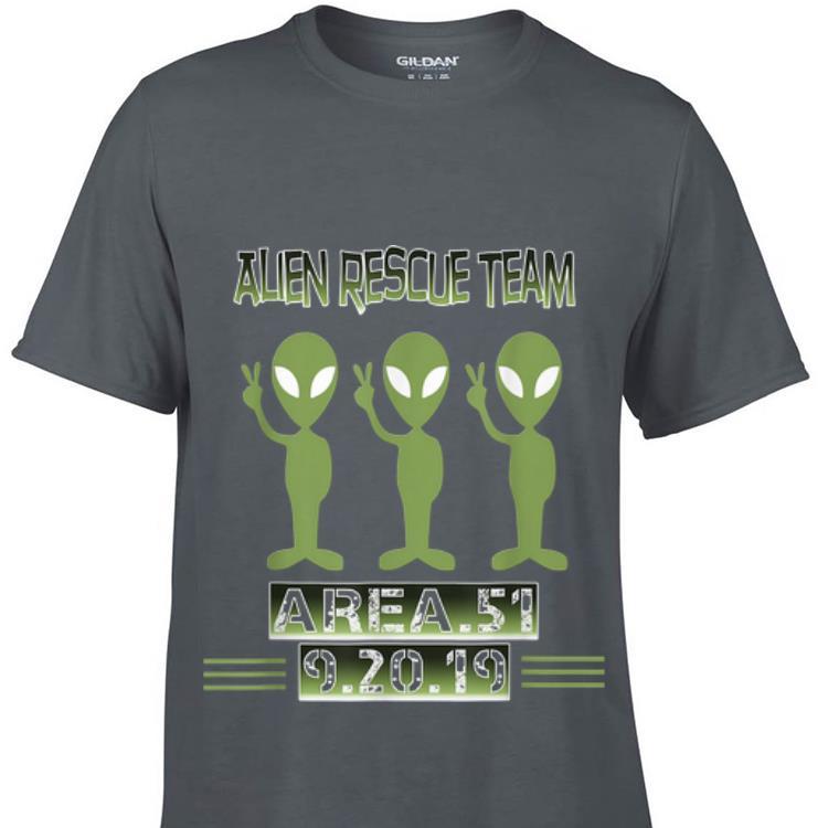Top Alien Rescue Team Area 51 guy tee 1 - Top Alien Rescue Team Area 51 guy tee