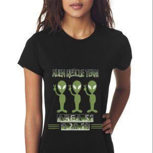 Top Alien Rescue Team Area 51 guy tee 2