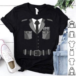 Top British Police Bobby Copper Halloween Costume shirt