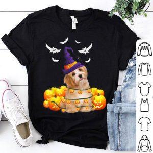 Top Havanese Dog Pumpkin Halloween shirt