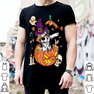 Australian Shepherd Dog Pumpkin Halloween Gifts shirt