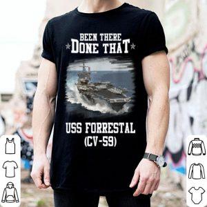 Awesome CV-59 USS FORRESTAL Navy Ships Tee shirt