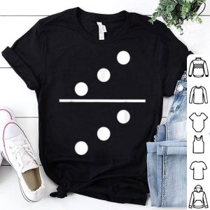 Awesome Domino 3 and 3 Matching Halloween Group Costumes 3-3 shirt