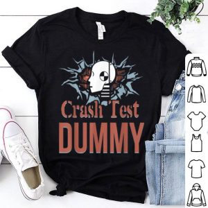 Awesome Funny Crash Test Dummy Easy Last Minute Halloween Costume shirt