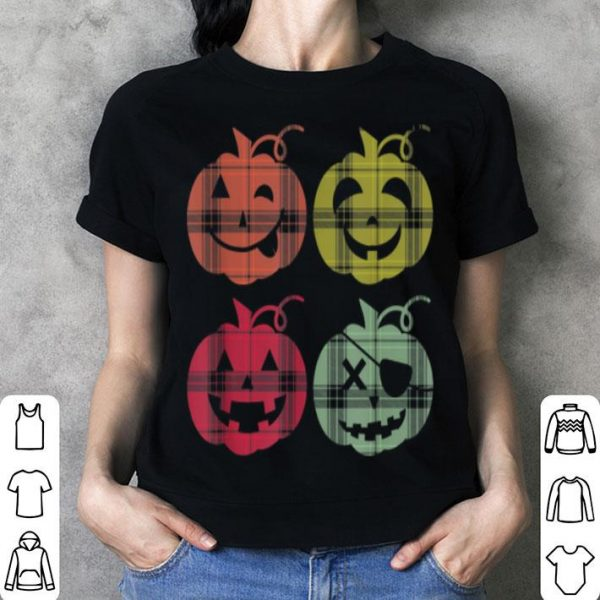 Awesome Halloween Halloween Funny Pumpkin Vintage Tops shirt