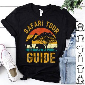 Awesome Safari Tour Guide Funny Halloween Costume Kids Adult shirt