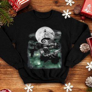Beautiful Disney The Nightmare Before Christmas Haunted Scene shirt