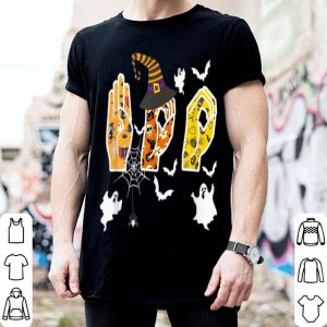 Beautiful Halloween Boo Sign Language shirt