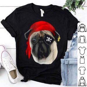 Beautiful Pirate Pug Funny Dog Pug Lovers shirt