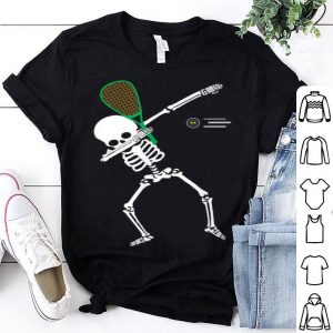 Dabbing Skeleton Halloween Squash shirt