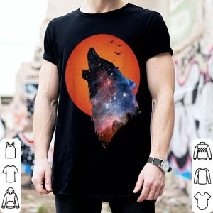Full Moon Werewolf Howling Wolf Horror Halloween shirt