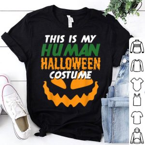 Funny Human Halloween Costume Dress Outfit Kids Adults Women shirt