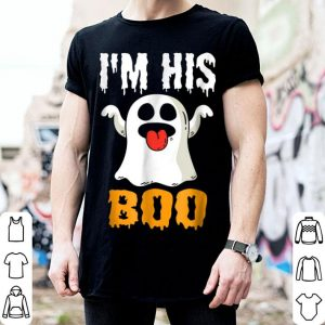 Funny I'm his Boo Couples Halloween Costume shirt