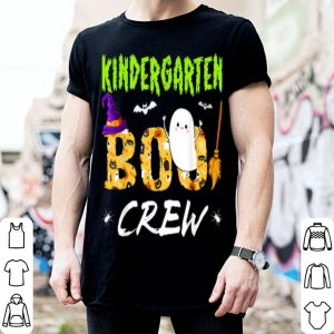 Funny Kindergarten Boo Crew Teacher Gift Halloween Costume shirt