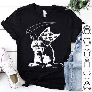 Hot Reaper Cat Halloween Lovers Pet shirt