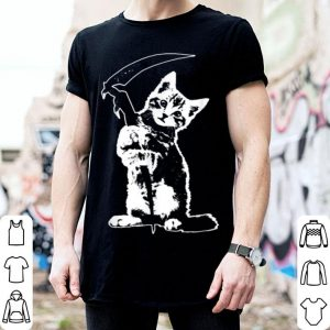 Hot Reaper Cat Halloween Lovers Pet shirt