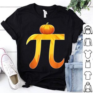 Nice Pumpkin Pi Halloween Costume Math Teacher Gift shirt