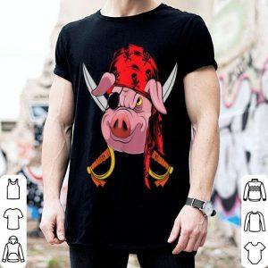 Original One Eyed Pirate Halloween Costume Pig shirt