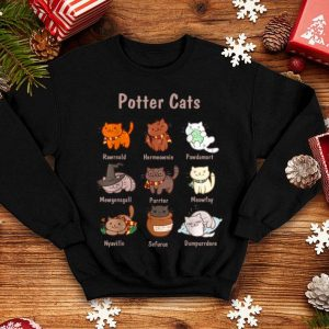 Original Potter Cats, Funny Gifts For Cat Lovers shirt