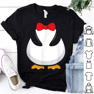 Penguin Costume Halloween Outfit Bowtie Cute Animal shirt