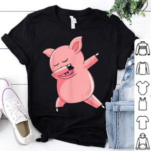 Pig Dabbing Halloween Costume Funny Boy Girl Mama shirt