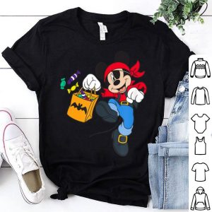 Premium Disney Halloween Mickey Mouse Pirate shirt