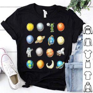 Top Alien Halloween Planet Costume Space Gift Idea shirt