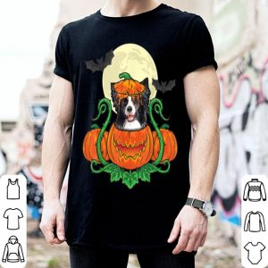 Top Border Collie In Pumpkin Costume Halloween Border Collie shirt