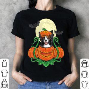 Top Border Collie In Pumpkin Costume Halloween Border Collie shirt