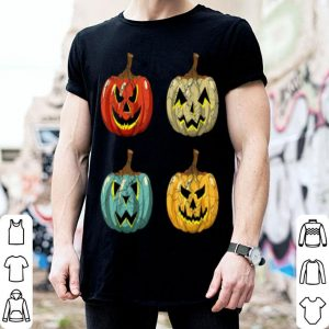 Vintage Pumpkin Funny Pumpkin Halloween Retro shirt