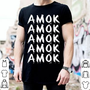 Awesome Amok Halloween Witch Quote shirt