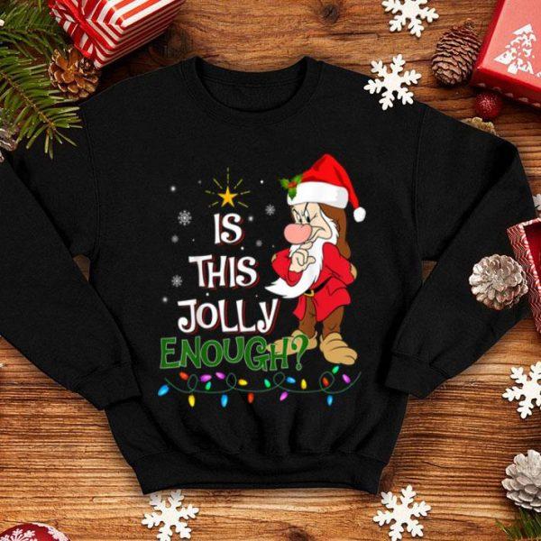 Awesome Is This Jolly Enough Christmas Grumpy Dwarf Xmas Gift shirt