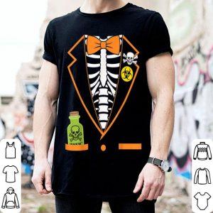Awesome Skeleton Tuxedo Spooky Funny Halloween shirt