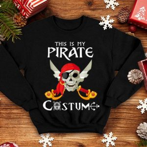 Awesome This Is My Pirate Costume Funny Costume Halloween Gift shirt