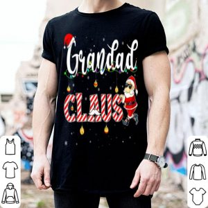 Beautiful Cute Christmas Grandad Santa Hat Gift Matching Family Xmas shirt