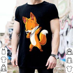 Beautiful Dabbing Fox for Kids Boys Girls Women Funny Dab Gifts shirt