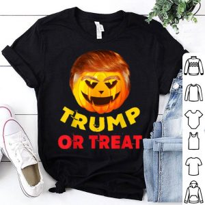 Beautiful Great Pumpkin Trump or Treat Gift for Halloween shirt