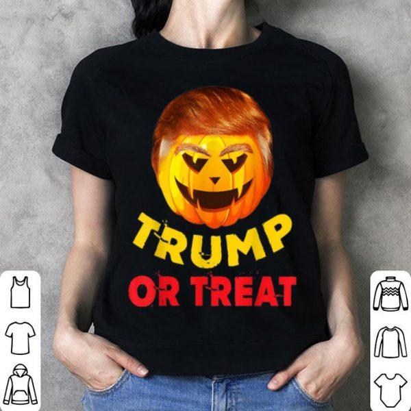 Beautiful Great Pumpkin Trump or Treat Gift for Halloween shirt