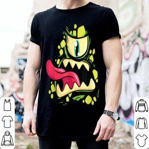 Beautiful Green Monster Cyclops Gift For Halloween Party shirt