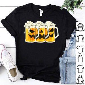 Beautiful Halloween Jack O Lantern Beer Mugs Funny Drinking Costume shirt
