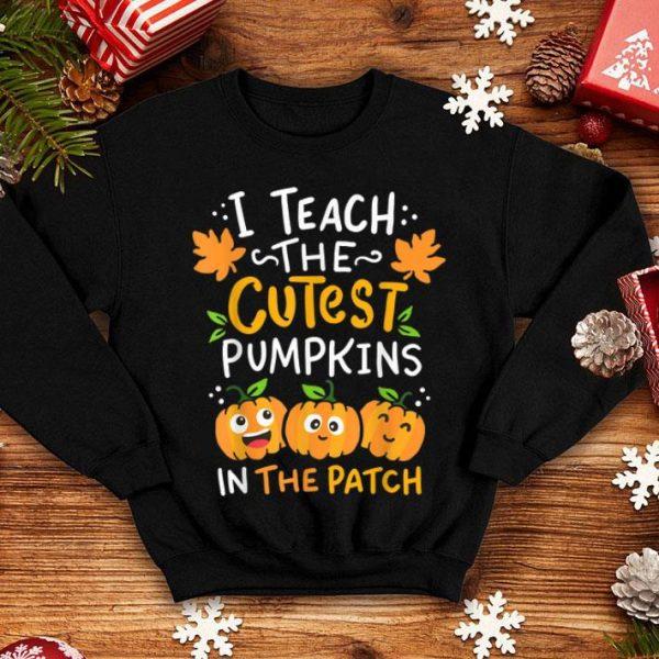 Beautiful Halloween Pre-K Teacher Cutest Pumpkins Gift shirt