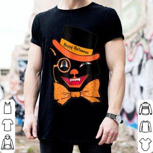 Beautiful Vintage Halloween Scary Black Cat Funny shirt