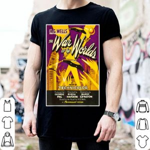Beautiful War of the Worlds Halloween Sci Fi Horror shirt