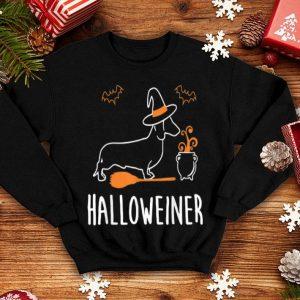 Beautiful Witch Dachshund Halloween Halloweiner Wiener Costume shirt