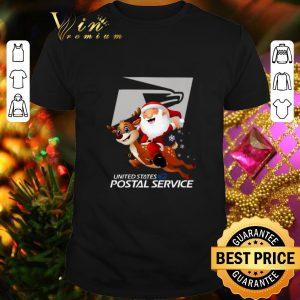 Best Santa United States Postal Service shirt