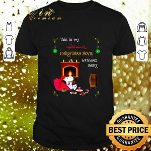 Best Snoopy This is my Hallmark Christmas movie watching shirt