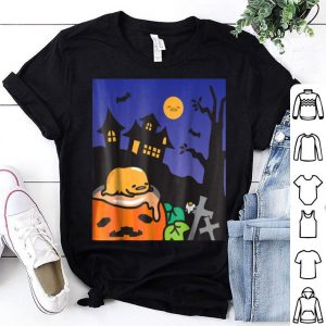 Funny Gudetama Haunted House Halloween shirt